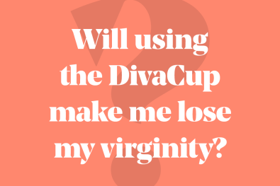 WIll using the DivaCup make me lose my virginity?