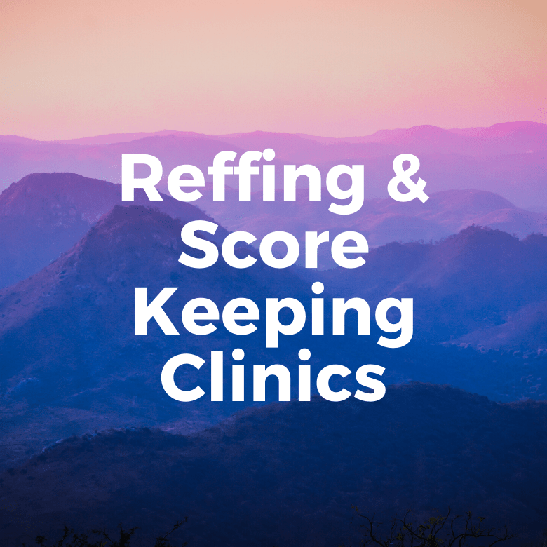 Sign up for a Reffing or ScoreKeeping Clinic
