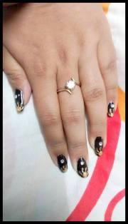 golden sun nail art diva