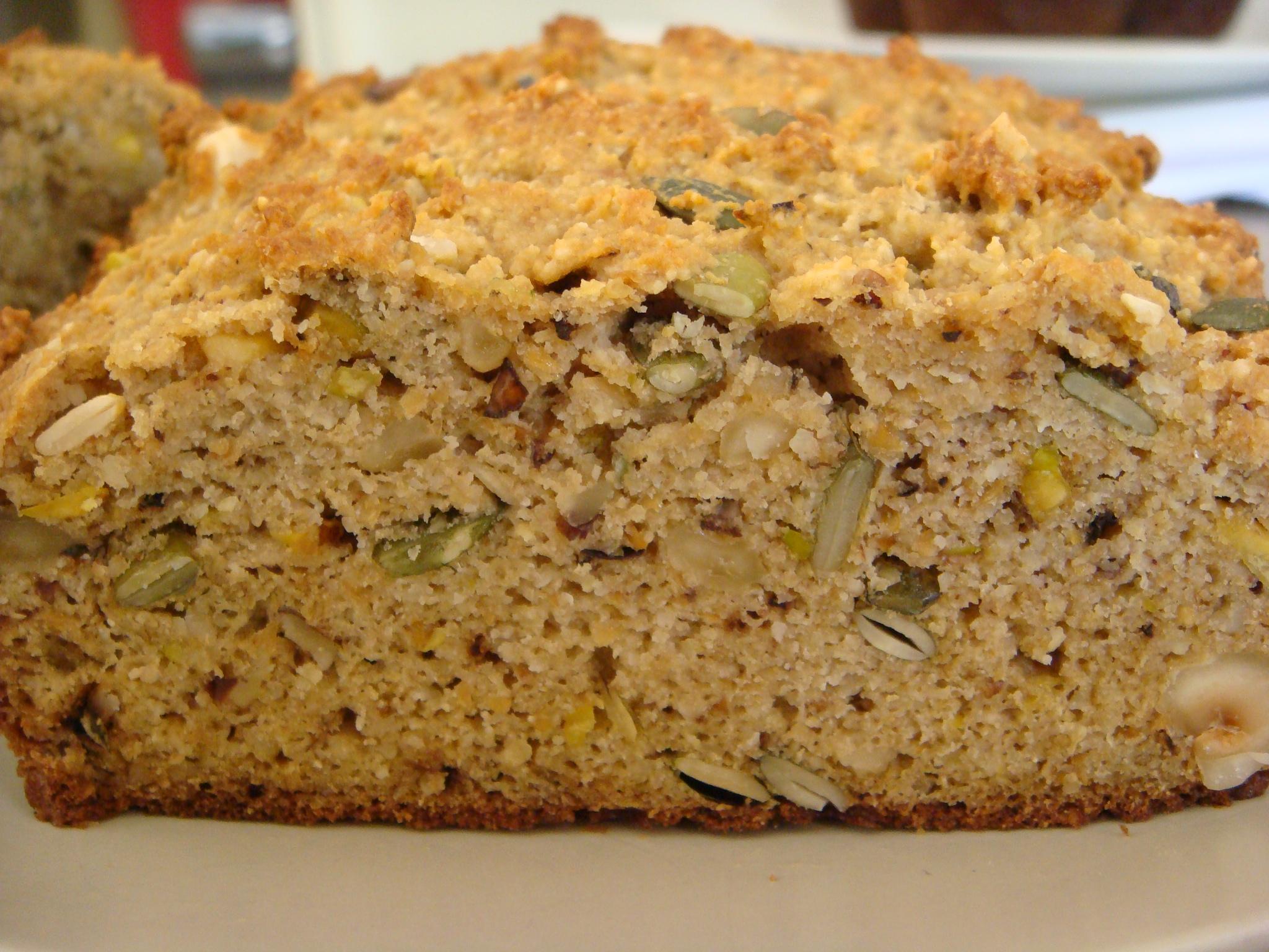 Nutty Bread - Divalicious Recipes
