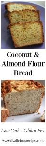 coconut almond flour bread