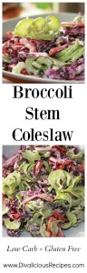 broccoli stem coleslaw