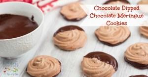 Chocolate-Dipped-Chocolate-Meringue-Cookies