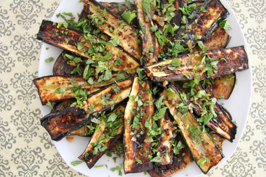 eggplant & zucchini