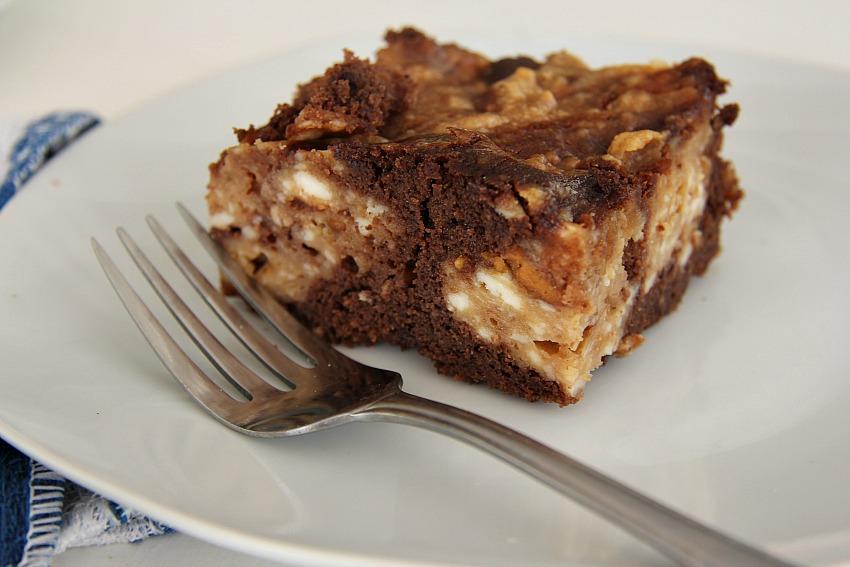 Peanut Chocolate Brownie