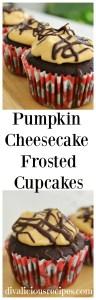 pumpkin cheesecake muffin