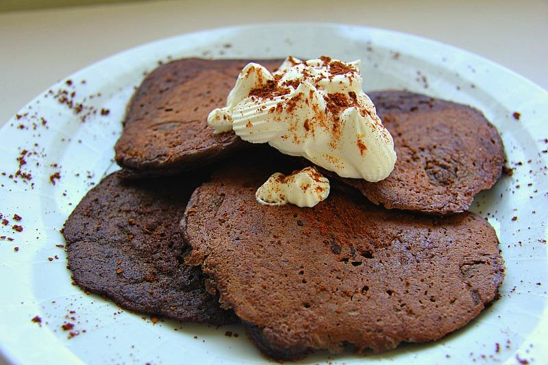 Chocolate-flaxseed
