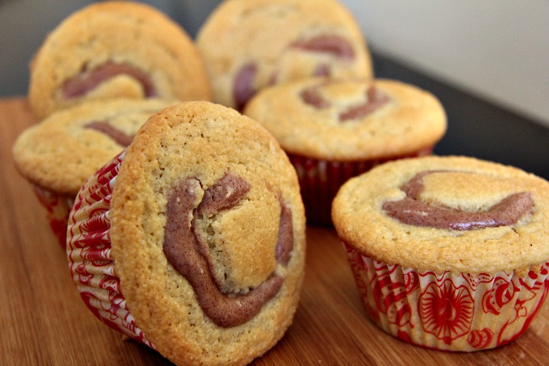 Creamy Cinnamon Swirl Muffins