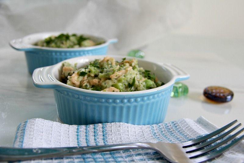 cauliflower rice risotto