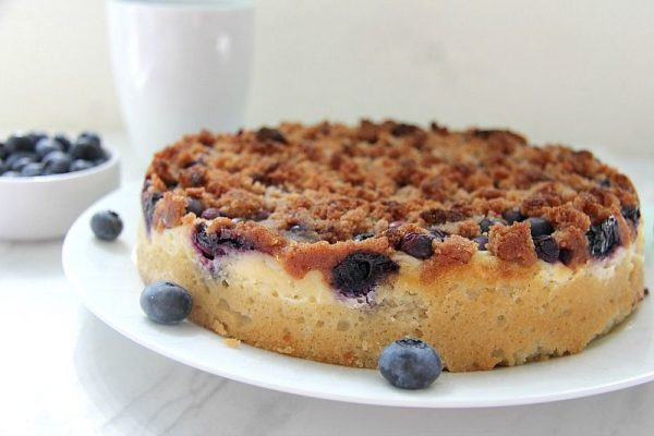 Taste Of Home Blueberry Cream Cheese Coffee Cake