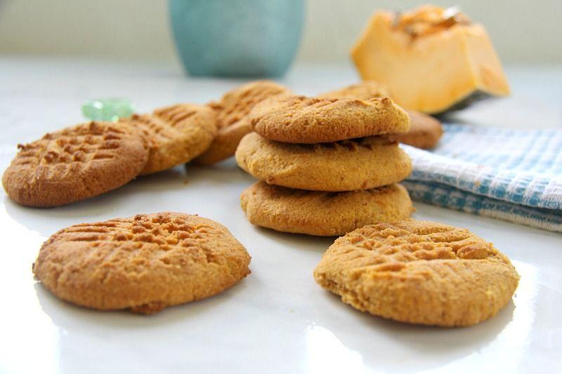 Pumpkin Cream Cheese Cookies
