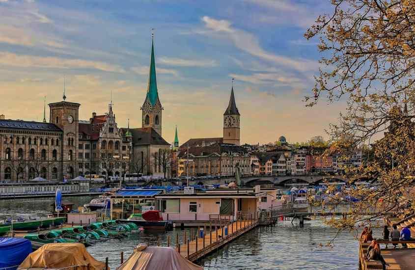 Согревающий ноябрь в Цюрихе