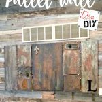 How To Make A Pallet Wall Using Free Pallet Wood