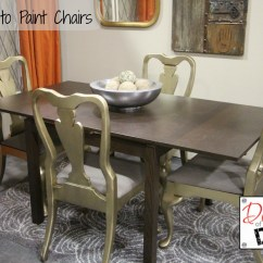 Diy Dining Room Chairs Plans Rattan Indoor Nz How To Paint Diva Of