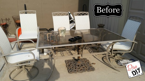 How To Update Your Tired Patio Furniture Diva Of DIY