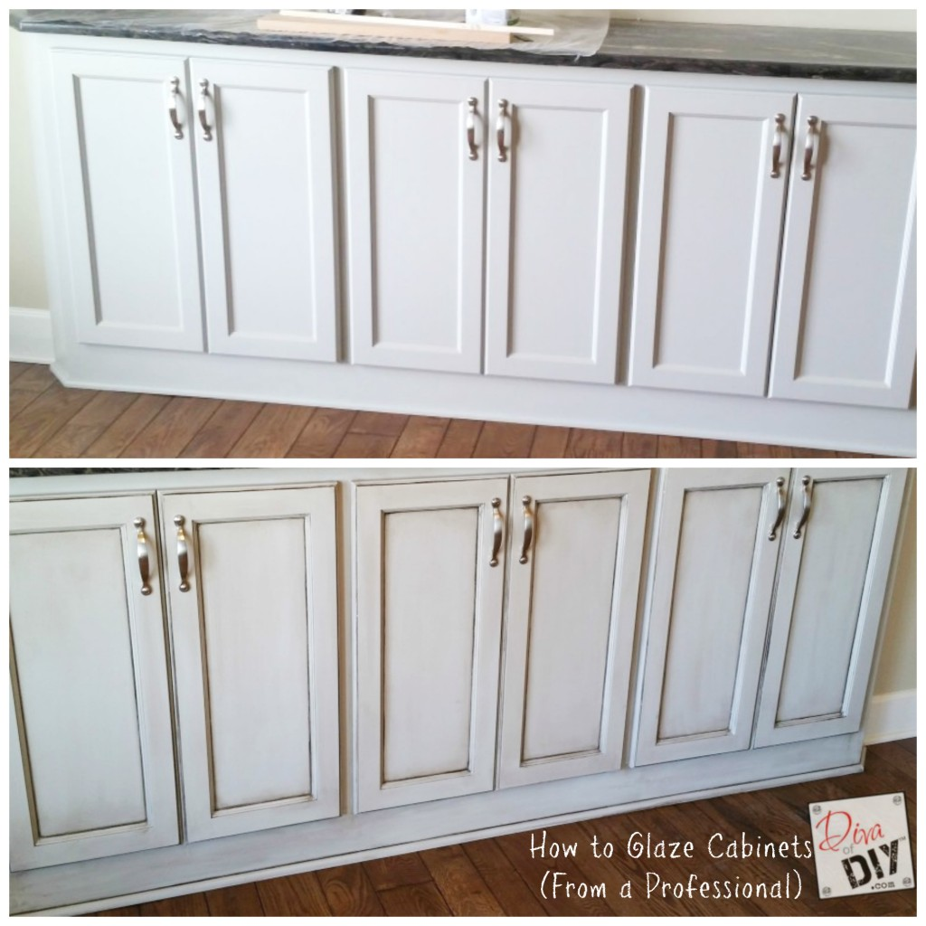 Refinished Kitchen Cabinets Before And After Preferred