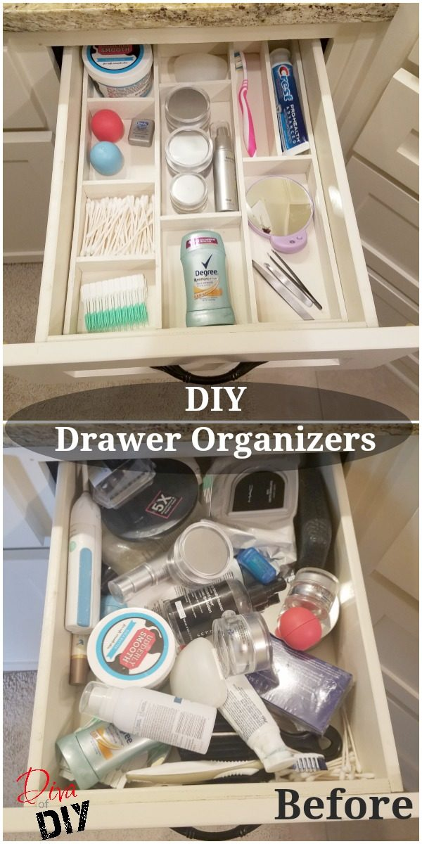 Get Organized with this Wooden DIY Drawer Organizer  Diva