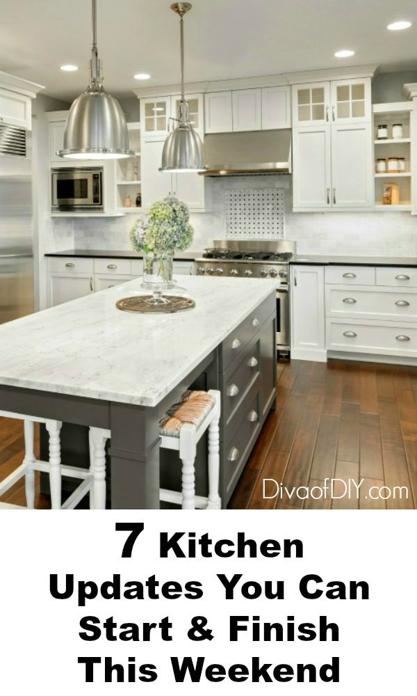 kitchen updates electronics easy you can do this weekend diva of diy a remodel cost thousands dollars and months to complete here are 7