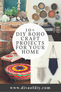 Boho Decor for your Home - Add color, textures and patterns