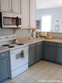The Ultimate Guide to Painting Kitchen Cabinets | Diva of DIY