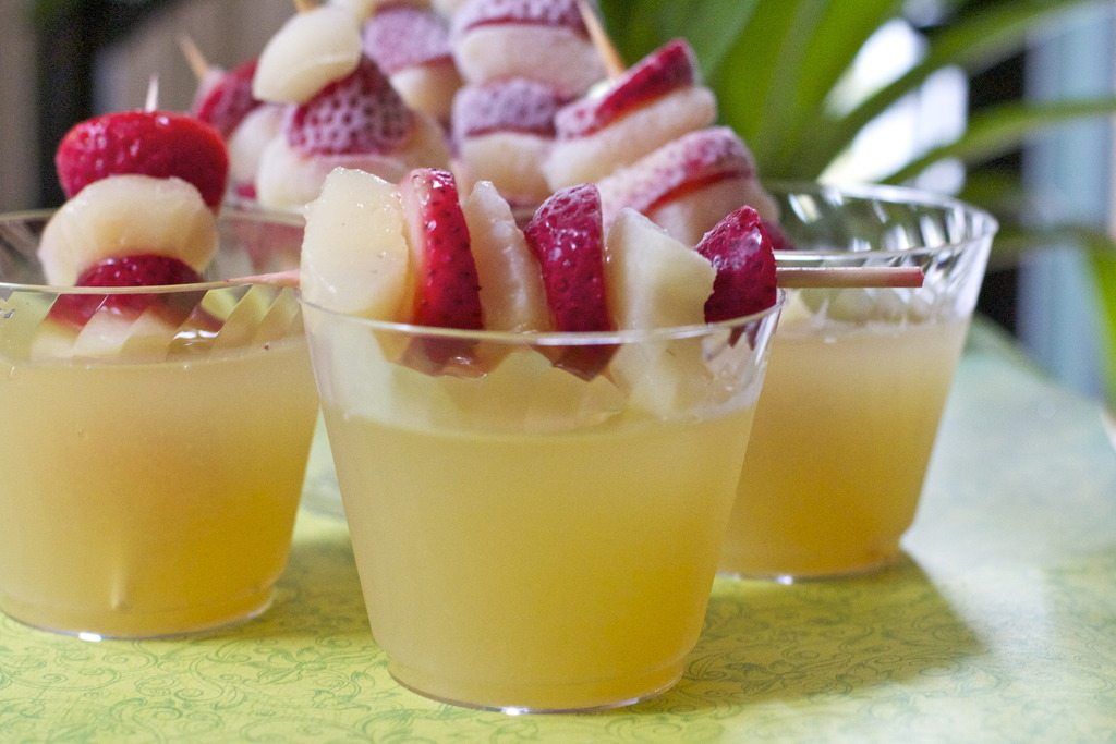 Yellow Punch Recipe Baby Shower