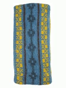 Aymara Ear Warmer, Teal, Alpaca Blend, winter Headbands for the whole family