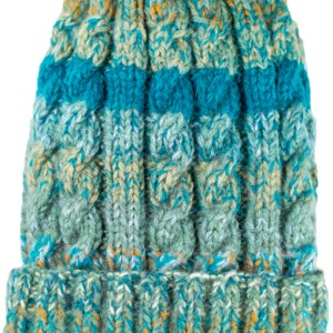 Funky cable style teal hat,, Alpaca Blend winter Hats for the whole family