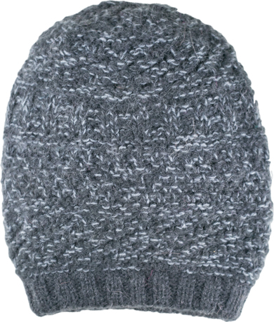 Grey Slouch Hat,, Alpaca Blend winter Hats for the whole family