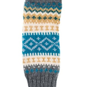 Sierra Arm Warmer, Aqua, Alpaca Blend, winter wrist warmers for the whole family