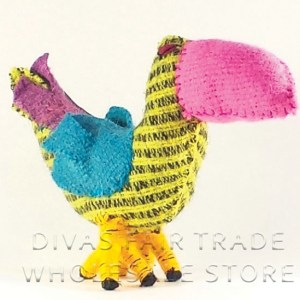 Toucan 100% Natural Wool Stuffed Toys