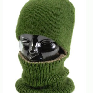 Arctic Hood Reversible, Alpaca Blend winter Hats for the whole family