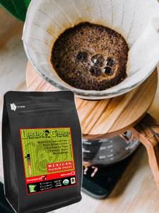 Fair Trade Organic Certified Mexican Dark Coffee Lucky Chango Specialty Dark Roast