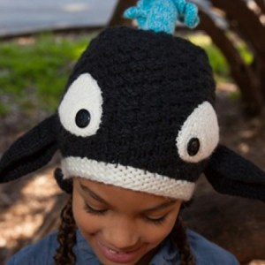 Animal Kids Orca Hat
