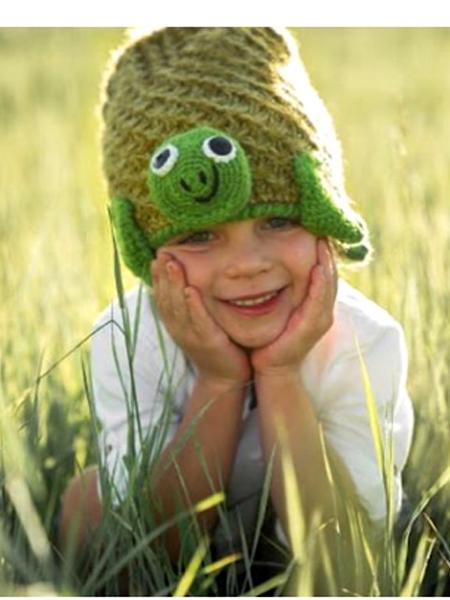 Animal Kids Turtle Hat