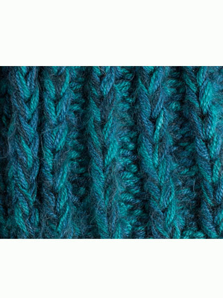 Classic Scarf Alpaca Blend, Aqua, Chunky, Unisex winter Scarves for the whole family