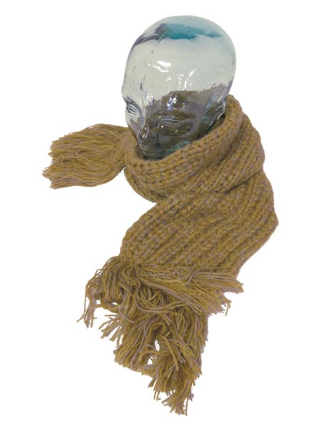 Classic Scarf Alpaca Blend, Chunky, Unisex winter Scarves for the whole family