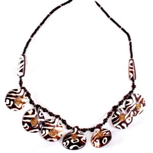 Around the World Bone Necklace