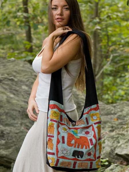 Sling Natural Elephant Bag