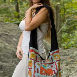 Sling Natural Elephant Bag