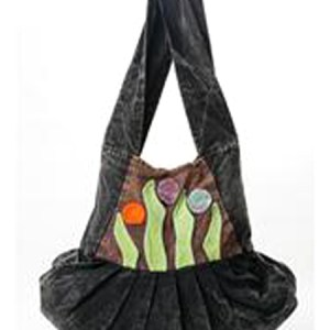 Hobo Bag Green Leaf