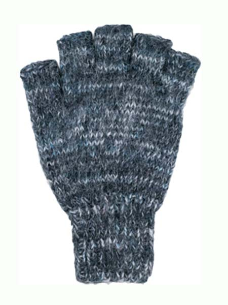 Manya Wrist Warmer, Grey 100% Alpaca, winter wrist warmers for the whole family