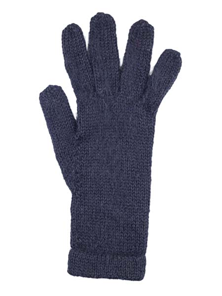 Milkshake Glove, Black 100% Alpaca, winter glovess for the whole family