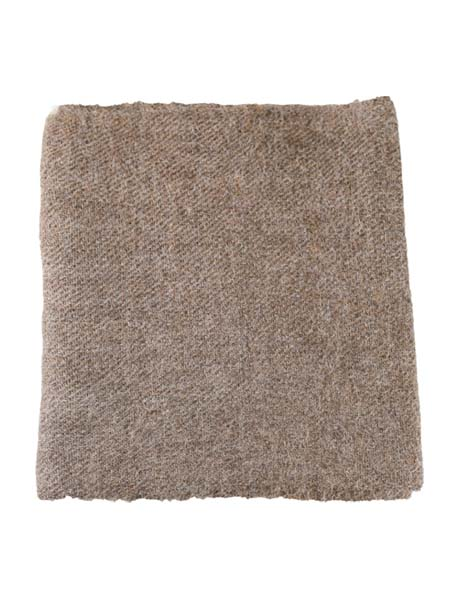 Solido Scarf 100% Alpaca, Natural. Unisex winter Scarves for the whole family