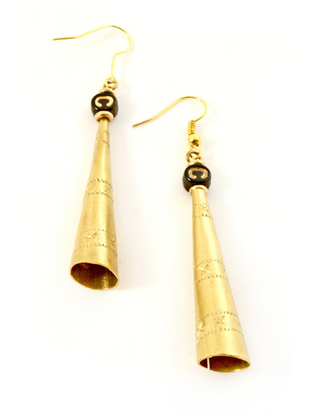Kenyan jubilation earrings