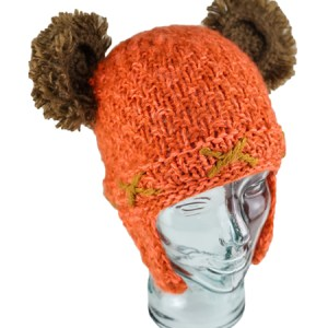 Kids Cave Bear Hat