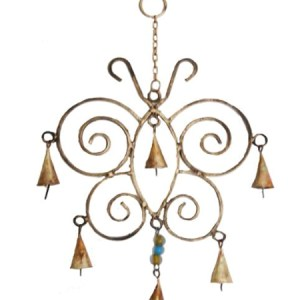 Spiral Butterfly Chimes