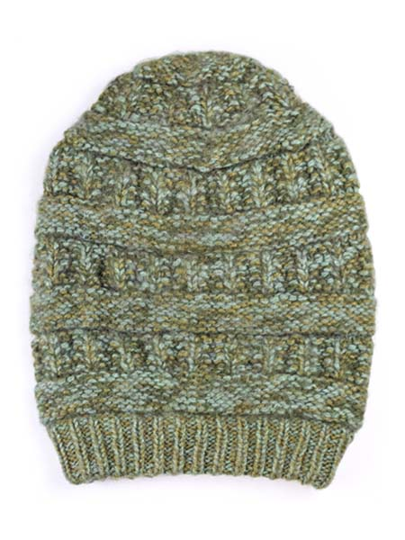 Pachamama Hat, Olive, Alpaca Blend, winter Hats for the whole family