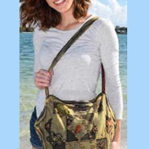 Star-shaped sling shoulder Bag