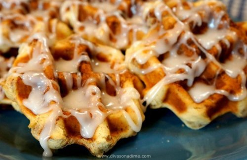 Go find your waffle iron! Here are 8 great things you can make in your waffle iron besides waffles. Cinnamon rolls, hash browns, paninis, inside out pizza and more!