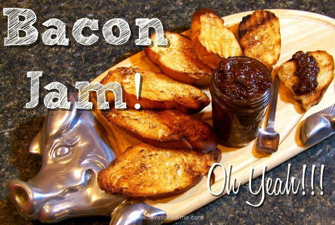 Irresistible smoky, sweet, and savory bacon jam! Slow cooking makes the onions caramelized and the bacon just melts in your mouth. It's magical! Slather on biscuits, top toast, make the best burger or level up your grilled cheese. Or eat it with a spoon, I won't tell!